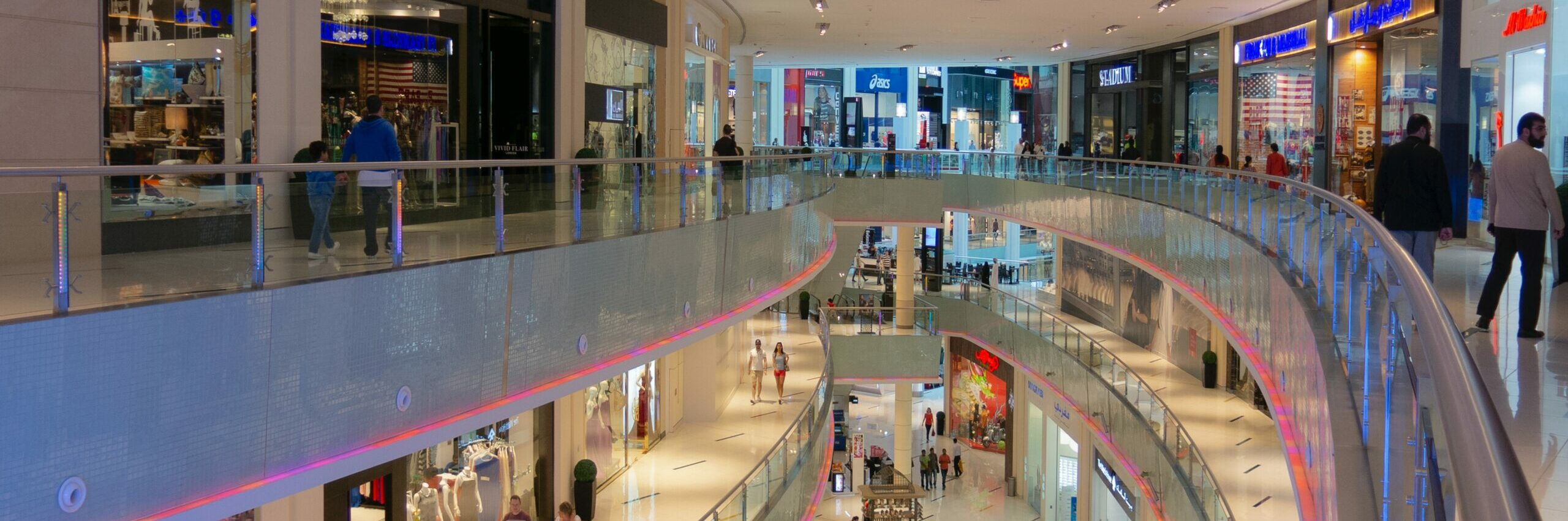 top view mall interior photo